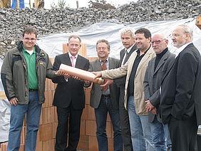 Grundsteinlegung für Wiesauer Seniorenheim