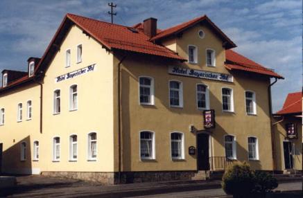 Hotel Bayerischer Hof Bahnhofstr   Wiesau